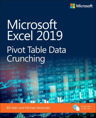 book cover: Microsoft Excel 2019 Pivot Table Data Crunching