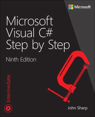 book cover: Microsoft Visual C# Step by Step