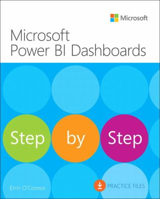 book cover: Microsoft Power BI Dashboards Step by Step