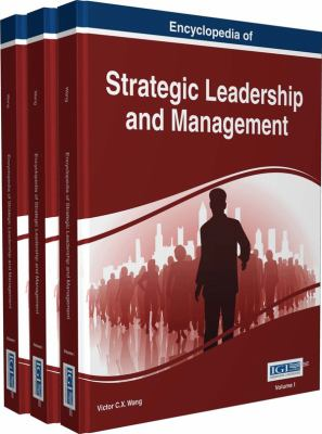 Book jacket for Encyclopedia of Strategic Leadership and Management