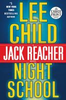 Book cover for Night School by Lee Child