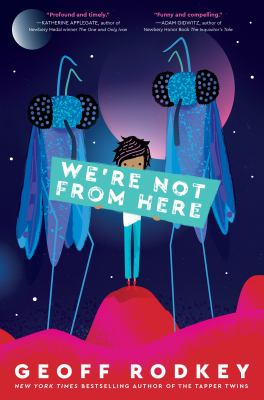 We're Not from Here book cover