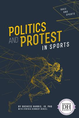 Book cover for Politics and protest in sports.