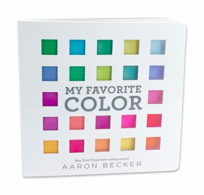 My favorite color / by Becker, Aaron,