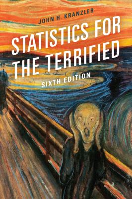 Book cover: Statistics for the Terrified