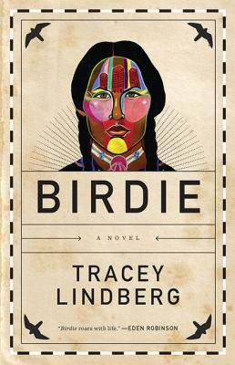 Cover image from Birdie: A Novel featuring a drawing of a woman.