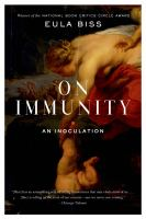 Book cover for On Immunity