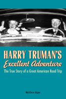 Harry Truman's Excellent Adventure book cover