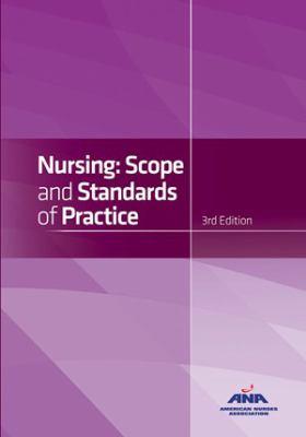 Book cover & link to ebook Nursing: Scope and Standards of Practice, 3rd Edition  by American Nursing Association