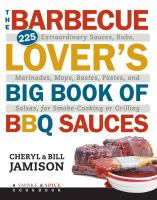 Barbeque Lover's Big Book of BBQ Sauces book cover