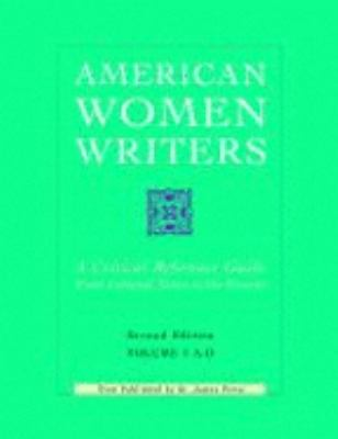 cover of American Women Writers: A Critical Reference Guide from Colonial Times to the Present. 2nd edition.