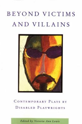 Beyond Victims and Villains book cover. An abstract painting of a man's face.