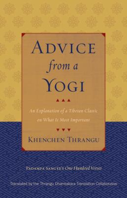 Thrangu Advice from a Yogi cover art