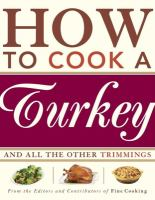 Book cover for How to Cook a Turkey
