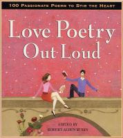 Book cover for Love Poetry Out Loud
