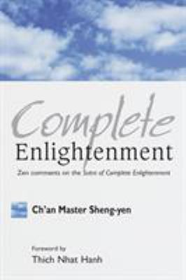 Sheng Yen Complete Enlightenment cover art