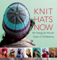 Book cover for Knit Hats Now