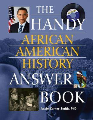 Book cover for Handy African American History Answer Book