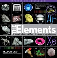 Book cover for The Elements by Theodore Gray