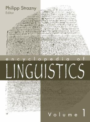 Cover Art for Encyclopedia of Linguistics