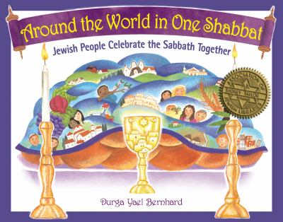 Cover Art for Around the World in One Shabbat