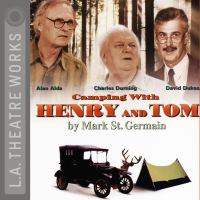 Audiobook cover art for Camping With Henry and Tom