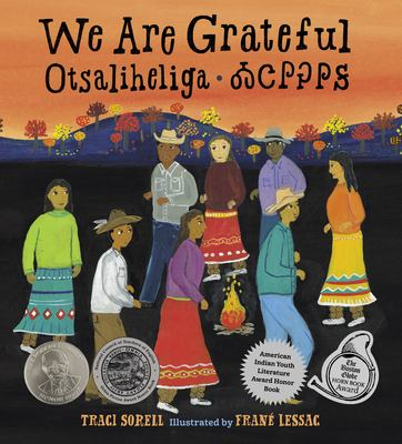 We Are Grateful by Traci Sorell book cover