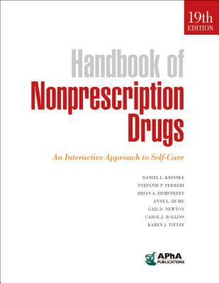 Book cover: Handbook of Nonprescription Drugs