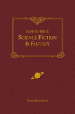 Book cover for How to write science fiction & fantasy.