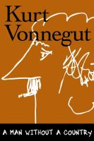 Cover of Kurt Vonnegut's A Man Without a Country