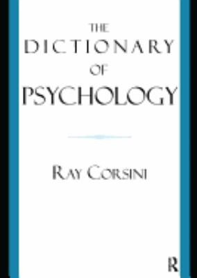 Book jacket for The Dictionary of Psychology