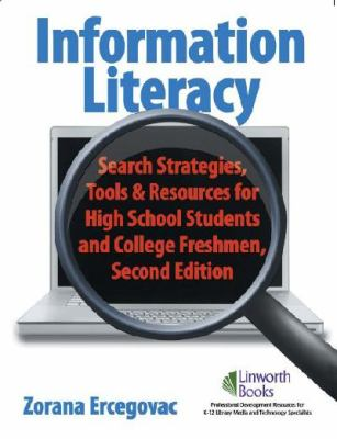 Book cover for Information literacy.