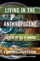 """""""Living in the Anthropocene"""" Book Cover"""