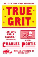 Book cover for True Grit by Charles Portis