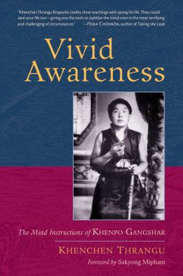 Thrangu Vivid Awareness cover art