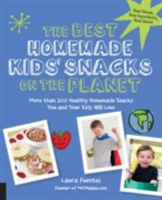 blue book cover with photo of kid snacks and two photos of boys