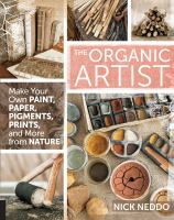 Book cover: The Organic Artist
