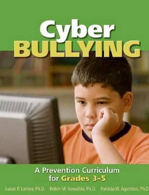 green book cover with picture of kid looking at computer screen