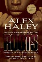 Book cover for Roots by Alex Haley