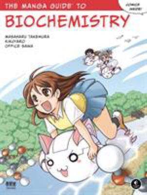 This is an image of the book cover of Manga Guide to Biochemistry.