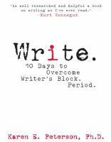 Write book cover