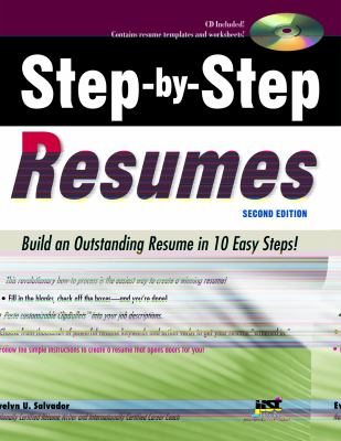 Cover image for Step-by-Step Resumes, 2nd Edition