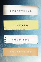 Book cover for Everything I Never Told You
