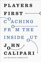 Book cover for Players First by John Calipari