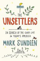 The Unsettlers book cover