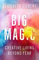 Book cover for Big Magic by Elizabeth Gilbert