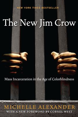Book cover for The new Jim Crow.