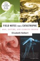 Book cover for Field Notes From a Catastrophe