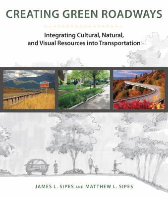 Book Cover: Creating Green Roadways