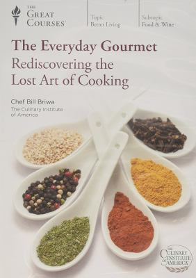 Cover Art for The everyday gourmet [DVD] : rediscovering the lost art of cooking